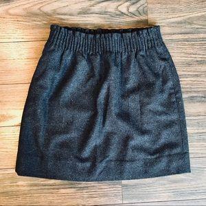 J-Crew wool skirt